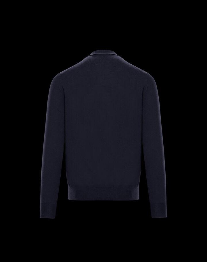 Moncler Button-down cardigan Night Blue