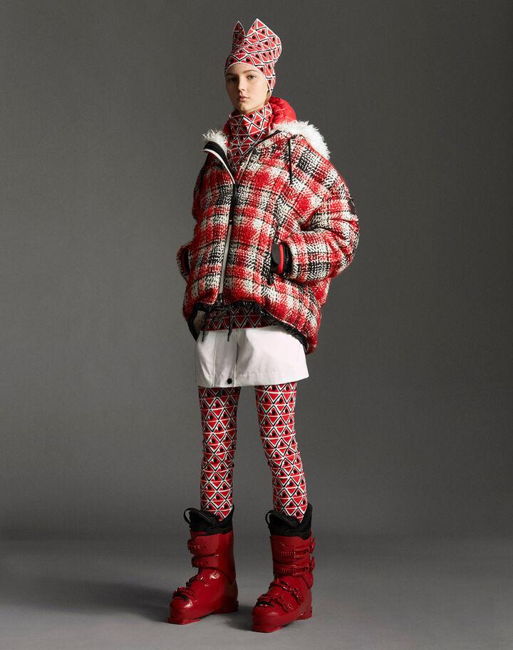 Moncler Leggings Fire Red