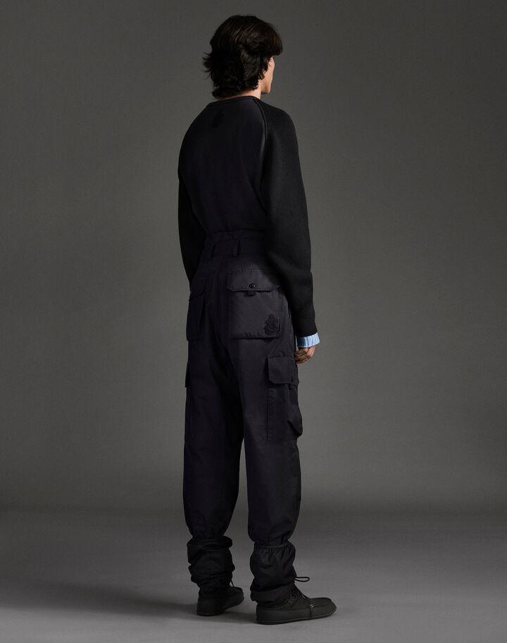 Moncler Black cargo pants Black