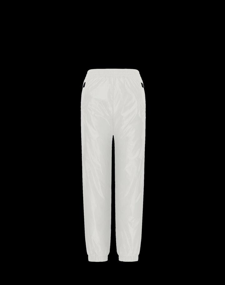Moncler Sports pants Silk White