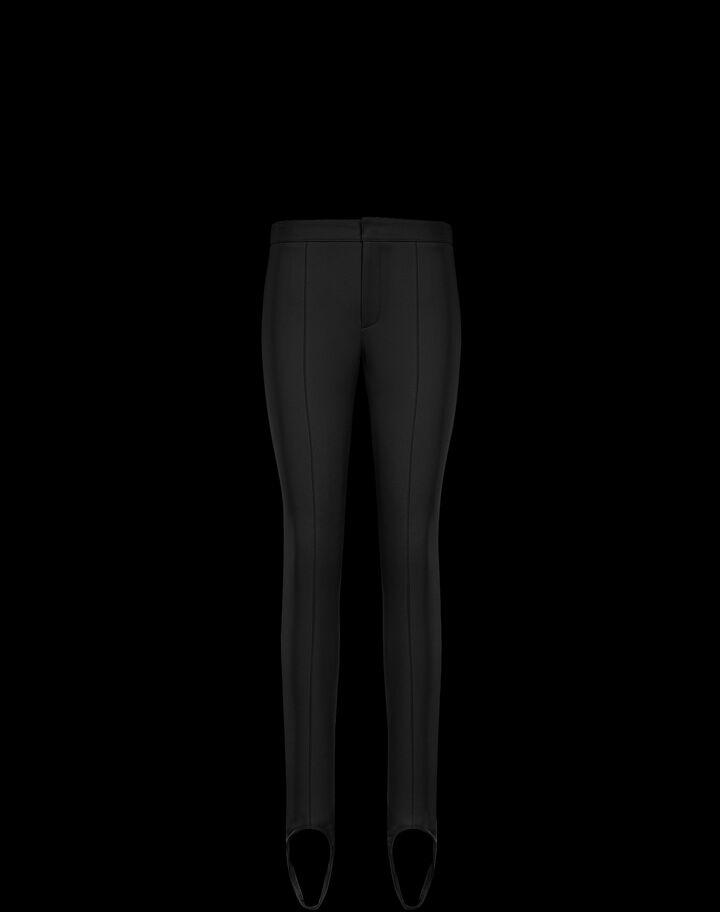 Moncler Technical twill leggings Black