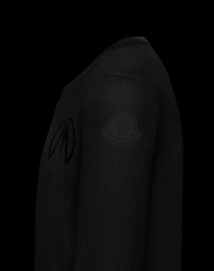 Moncler Long sleeve t-shirt Black