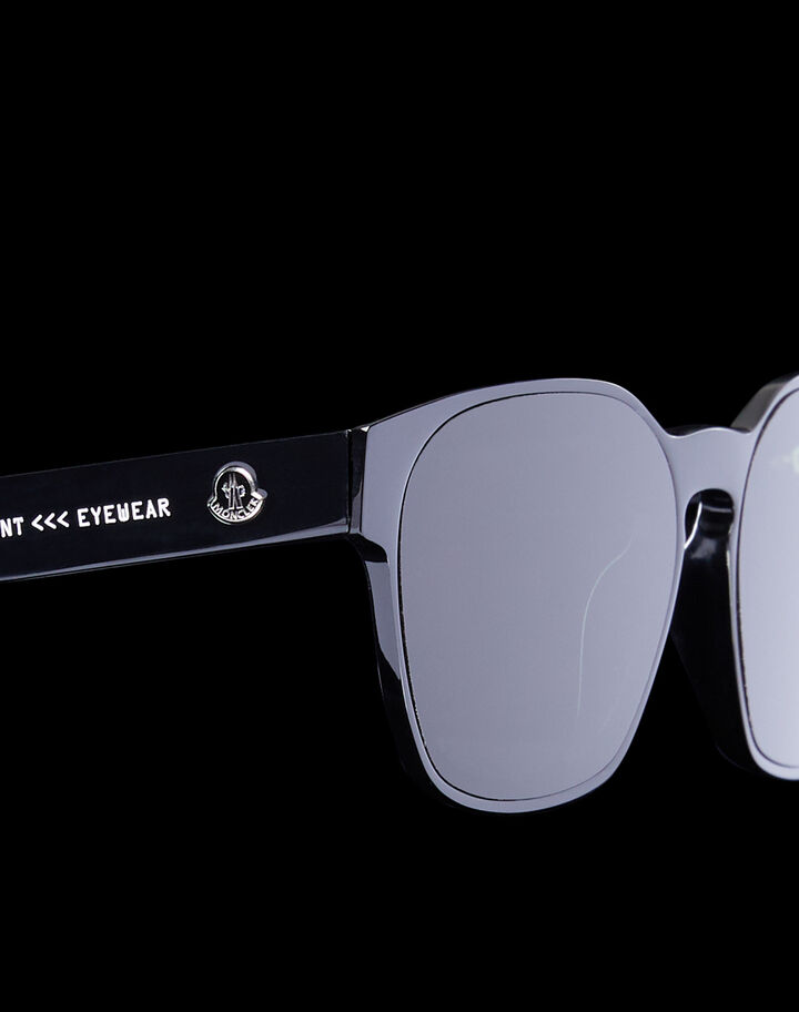 Moncler Squared sunglasses Shiny Black