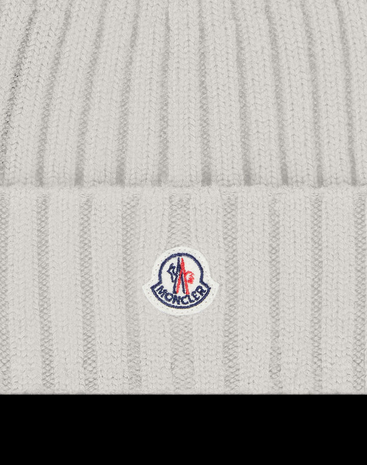 Moncler Wool beanie Silk White