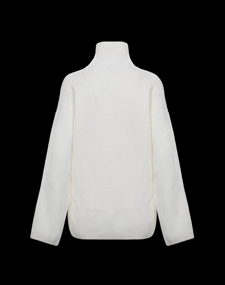 Moncler Bell sleeved shirt Silk White