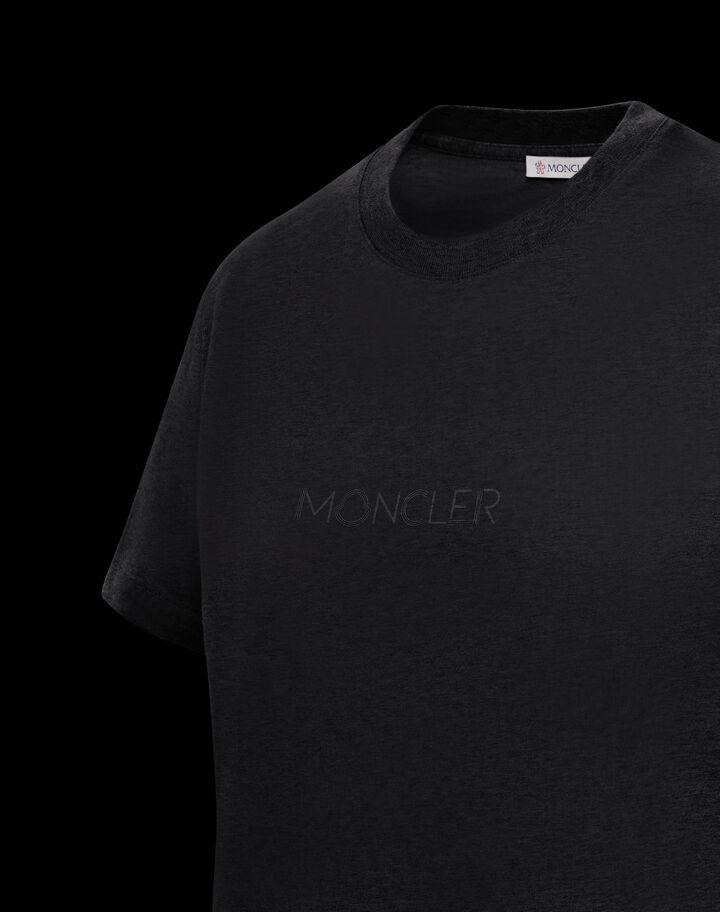 Moncler T-shirt Moncler print Black