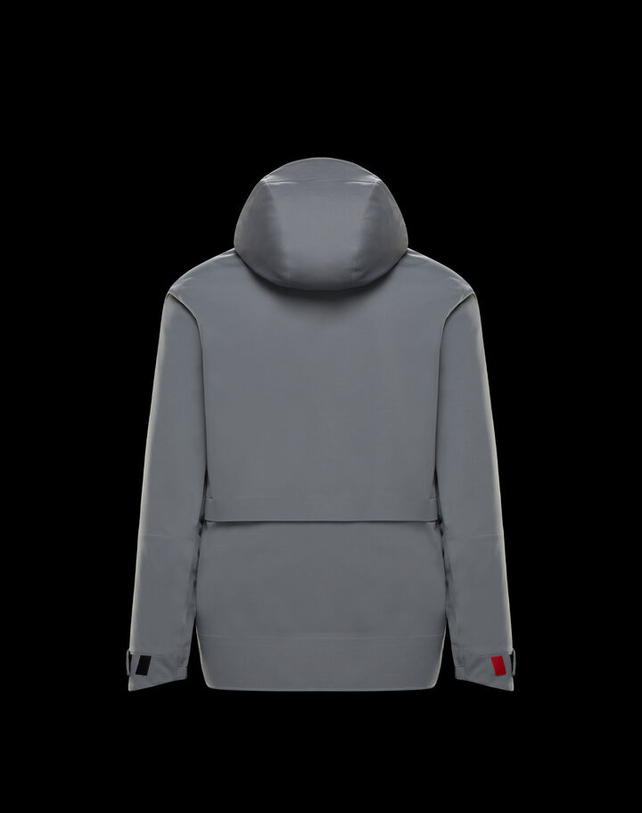 Moncler Technical cardigan Grey