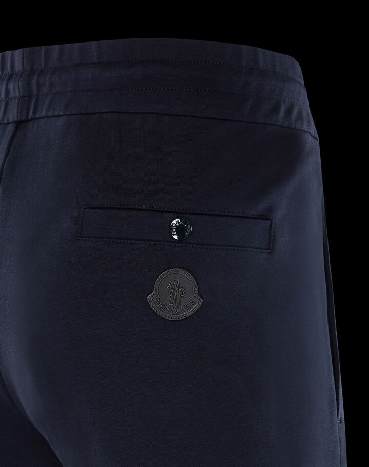 Moncler Knee-zipper pants Night Blue