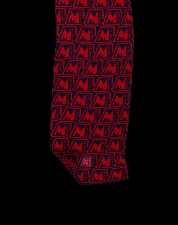 Moncler Inlaid scarf Natural Camel Beige