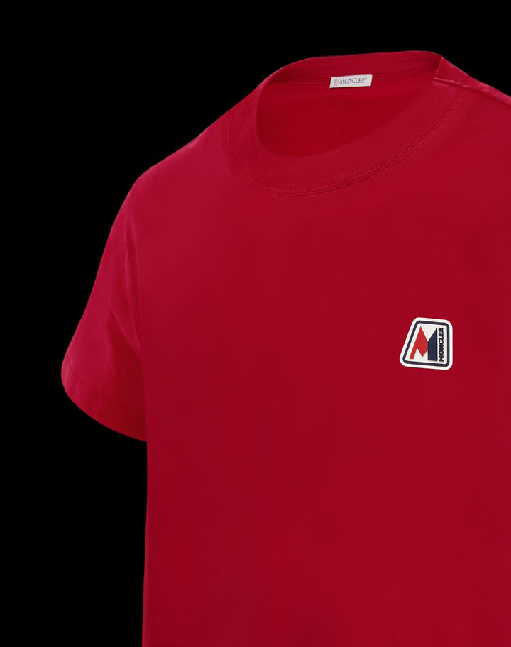 Moncler Patch t-shirt Scarlet Red