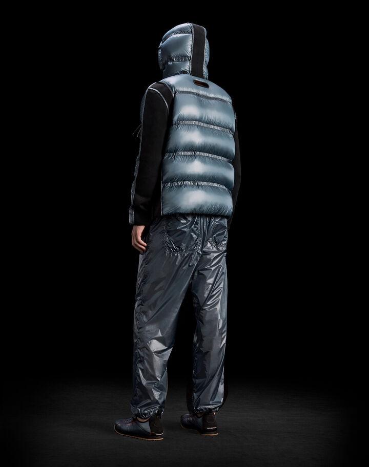 Moncler Light ripstop pants Dark Avio