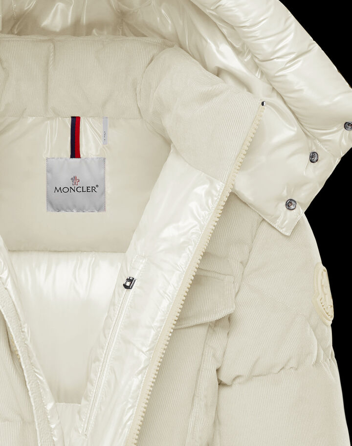 Moncler Vignemale Silk White