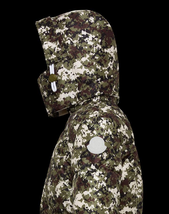 Moncler Blanc Army Green