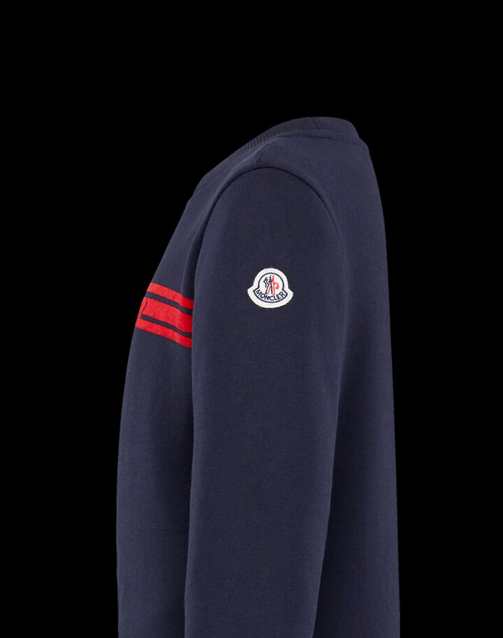 Moncler Jumpsuit with contrasting band Night Blue