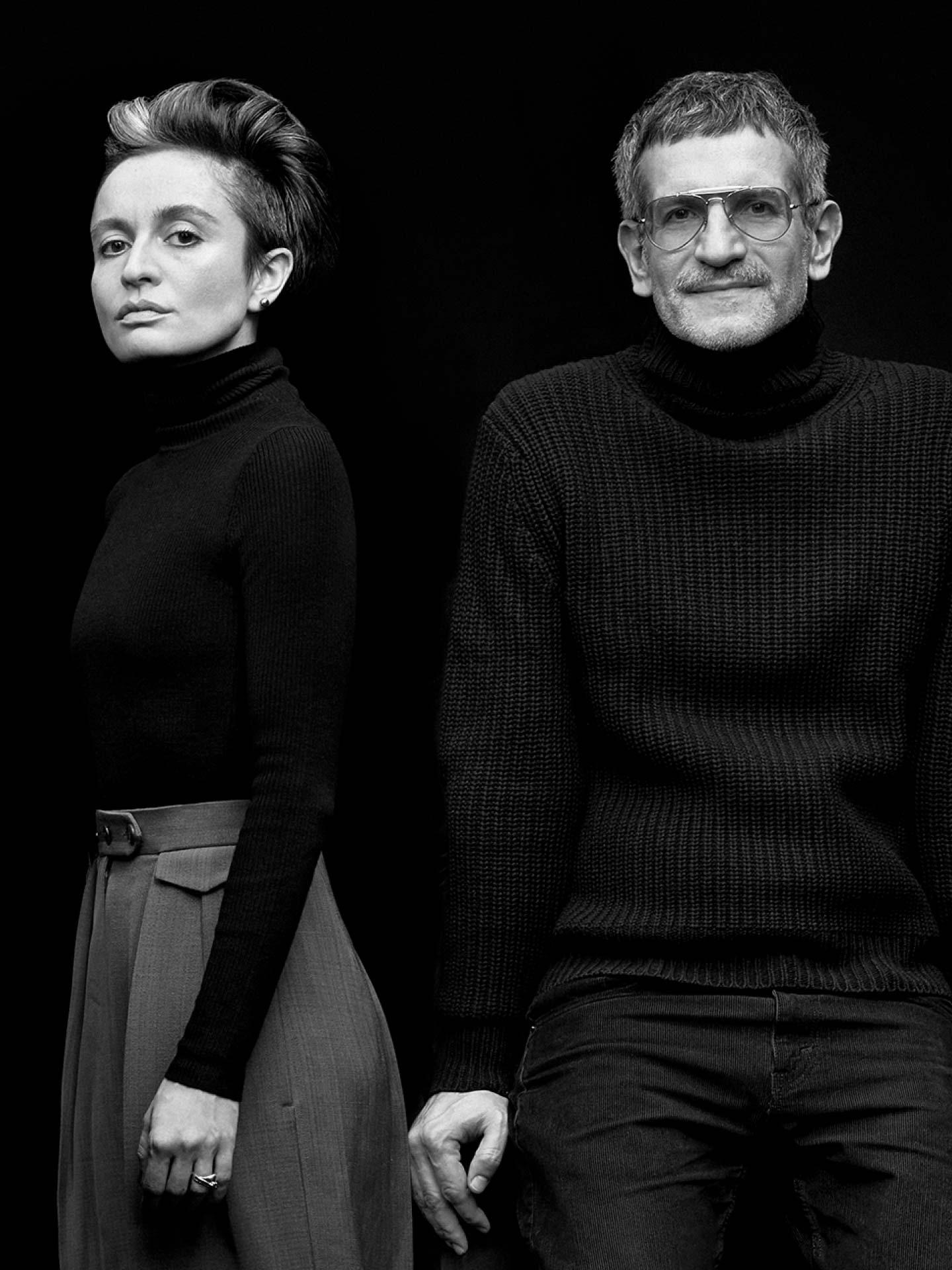 Stylisten Veronica Leoni und Sergio Zambon für Moncler Genius